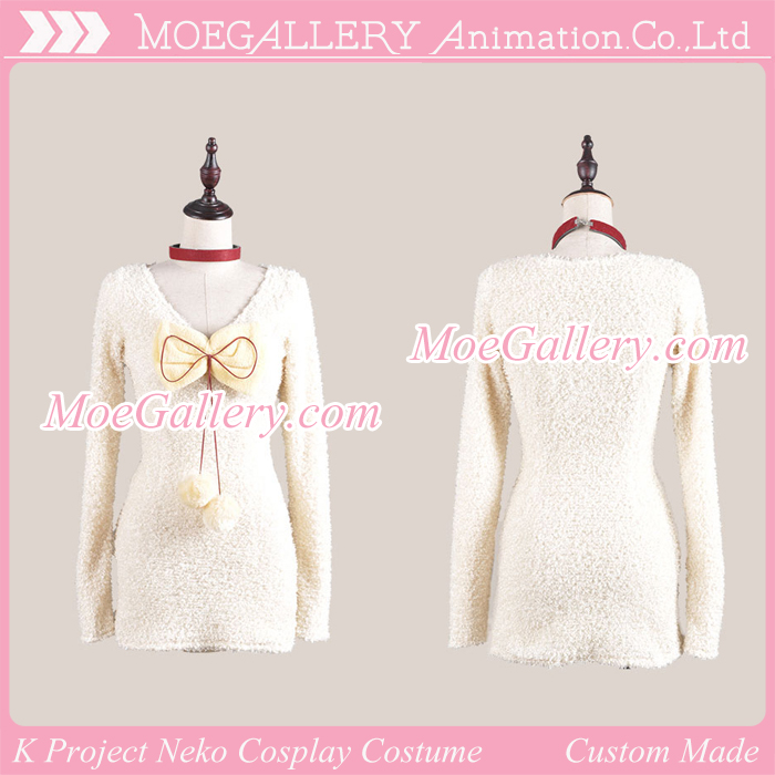 K Project Neko Cosplay Costume