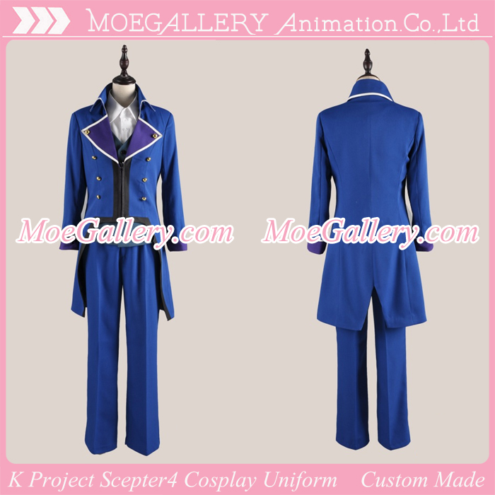 K Project Scepter4 Cosplay Uniform