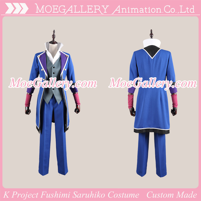 K Project Scepter4 Fushimi Saruhiko Cosplay Costume