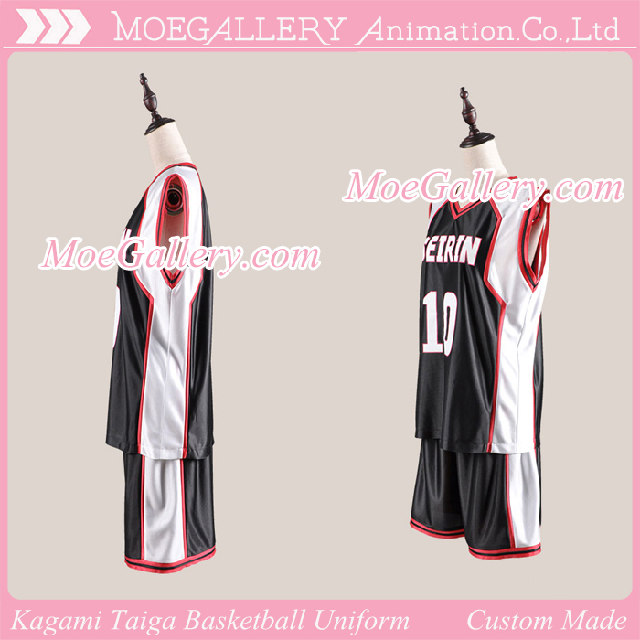 Kuroko no Basuke Kagami Taiga Basketball Uniform Black