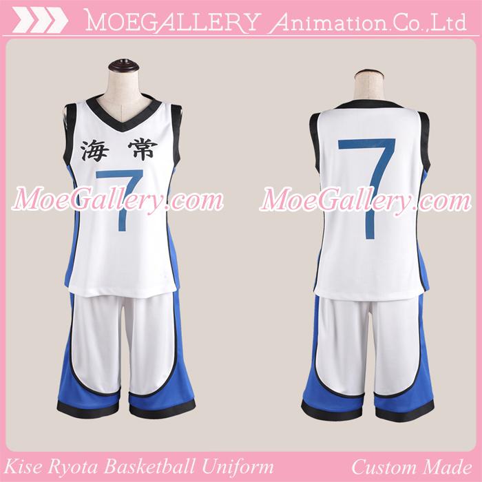 Kuroko no Basuke Kise Ryota Basketball Uniform