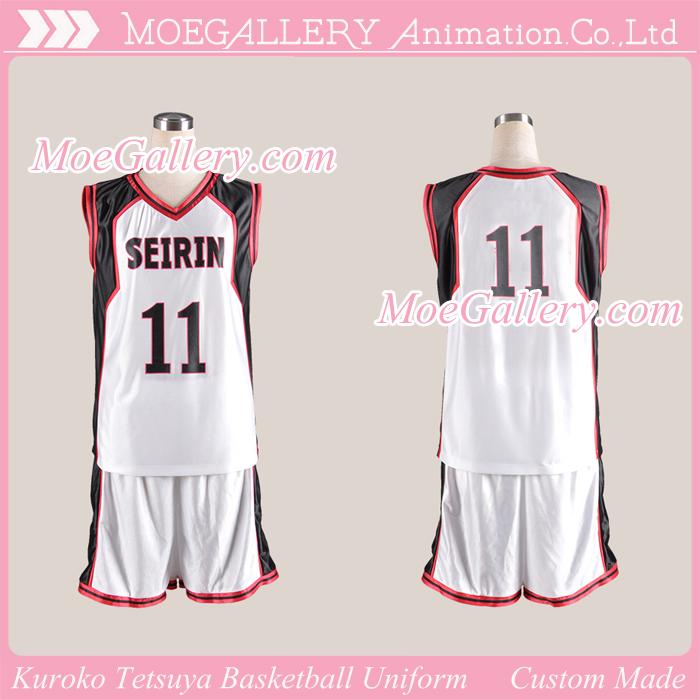 Kuroko no Basuke Kuroko Tetsuya Basketball Uniform