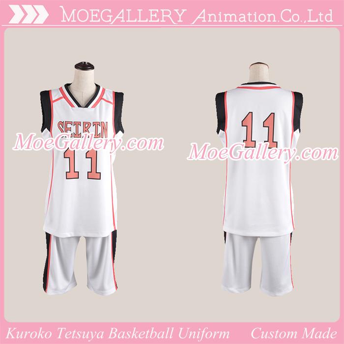 Kuroko no Basuke Kuroko Tetsuya Basketball Uniform Comic