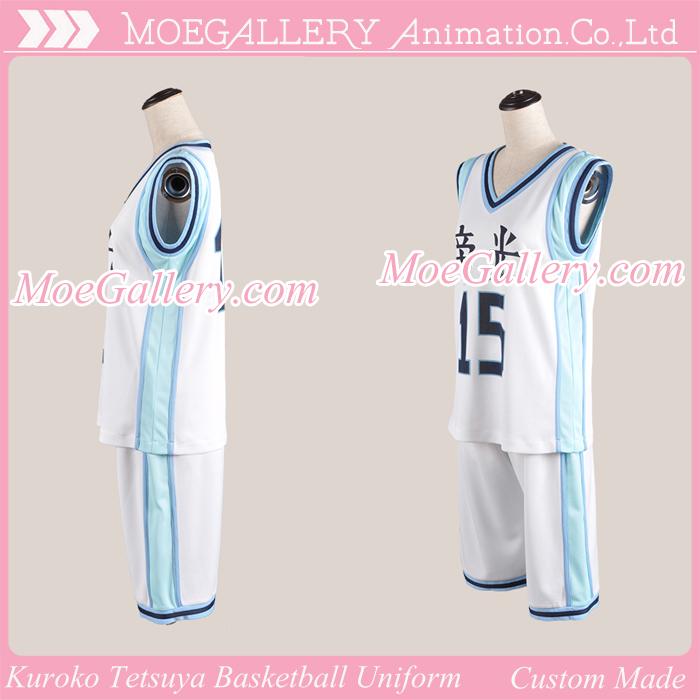 Kuroko no Basuke Kuroko Tetsuya Basketball Uniform Teikou School