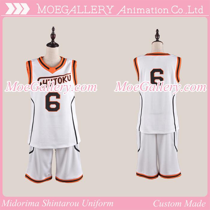 Kuroko no Basuke Midorima Shintarou Basketball Uniform