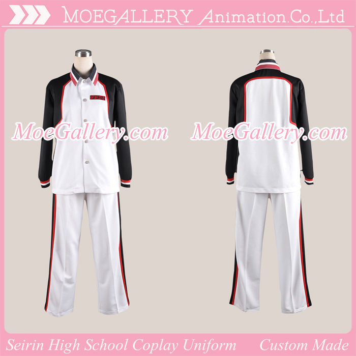 Kuroko no Basuke Seirin High School Uniform
