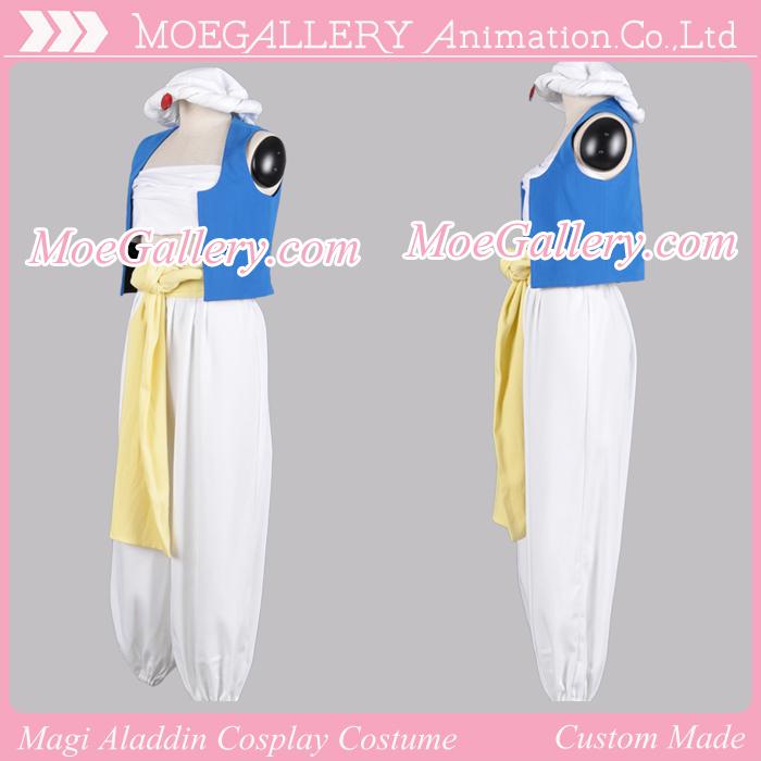 Magi Aladdin Cosplay Costume