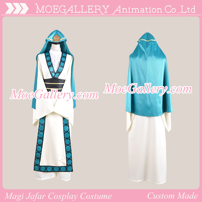Magi The Labyrinth of Magic Jafar Cosplay Costume