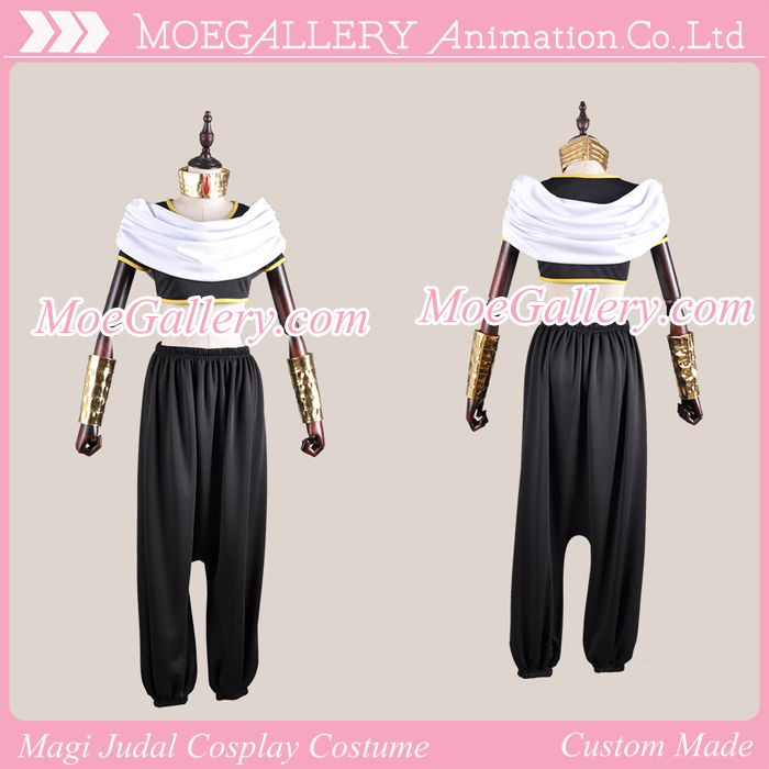 Magi The Labyrinth of Magic Judal Cosplay Costume