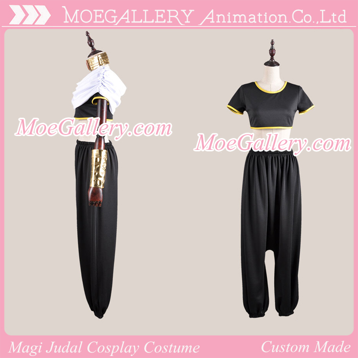 Magi Judal Cosplay Costume
