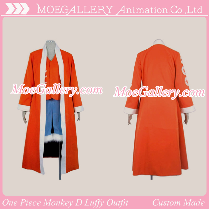 One Piece Monkey D Luffy Cosplay Outfit