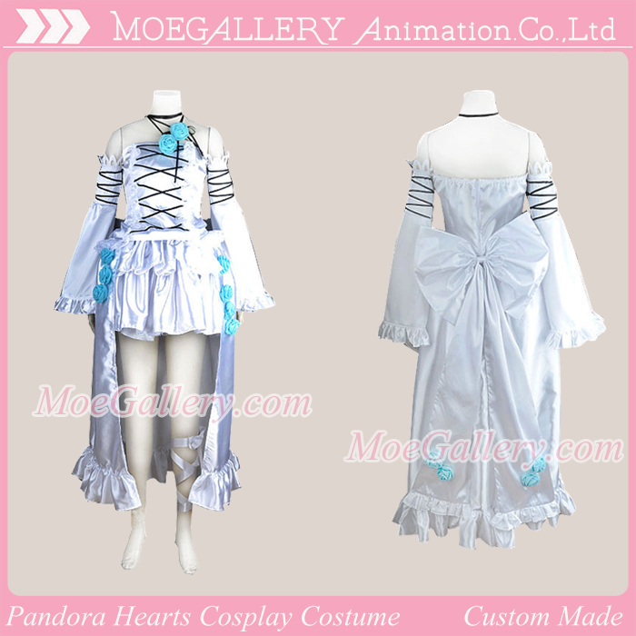 Pandora Hearts White Rabbit Will of the Abyss Cosplay Costume