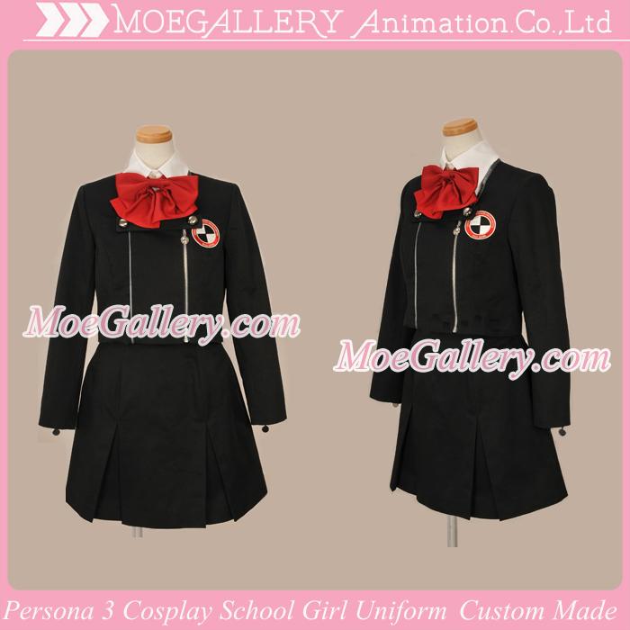 Persona 3 School Girl Cosplay Uniform