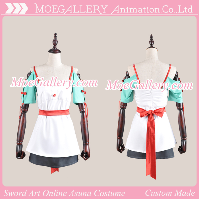 Sword Art Online Asuna Yuuki Cooking Outfit Cosplay Costume