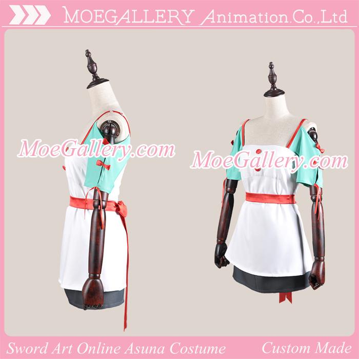 Sword Art Online Asuna 8th Words Cosplay Costume