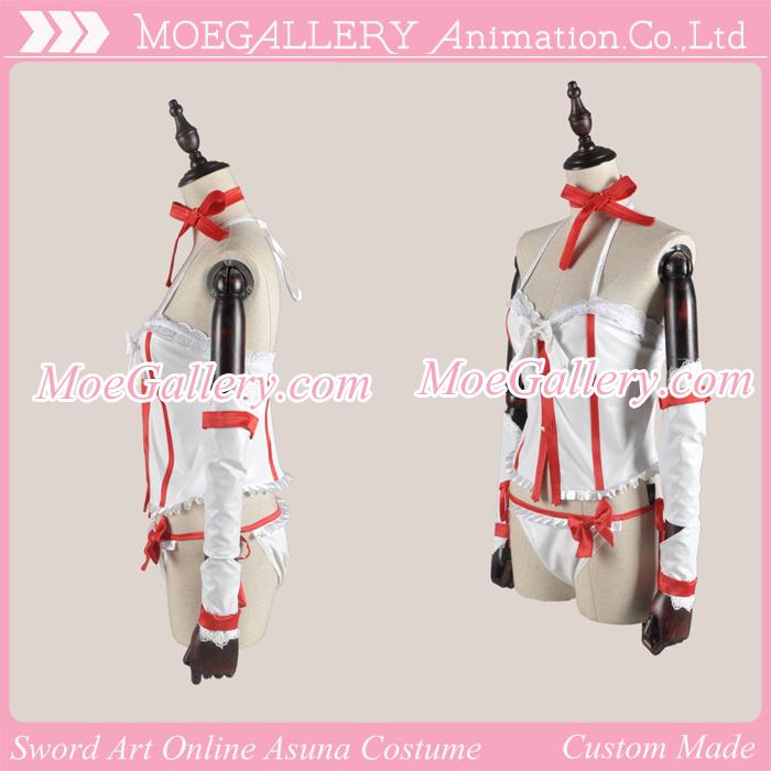 Sword Art Online Asuna Cosplay Suspenders Costume