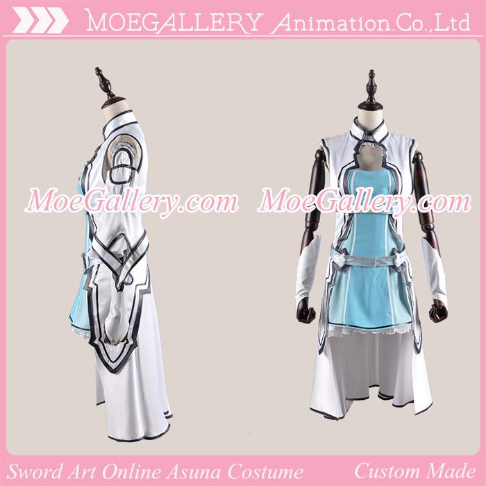 Sword Art Online Asuna Fairy Dance Cosplay Costume