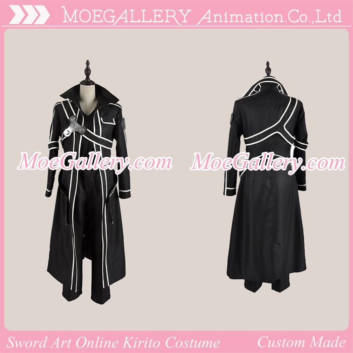 Sword Art Online Kirito Cosplay Costume