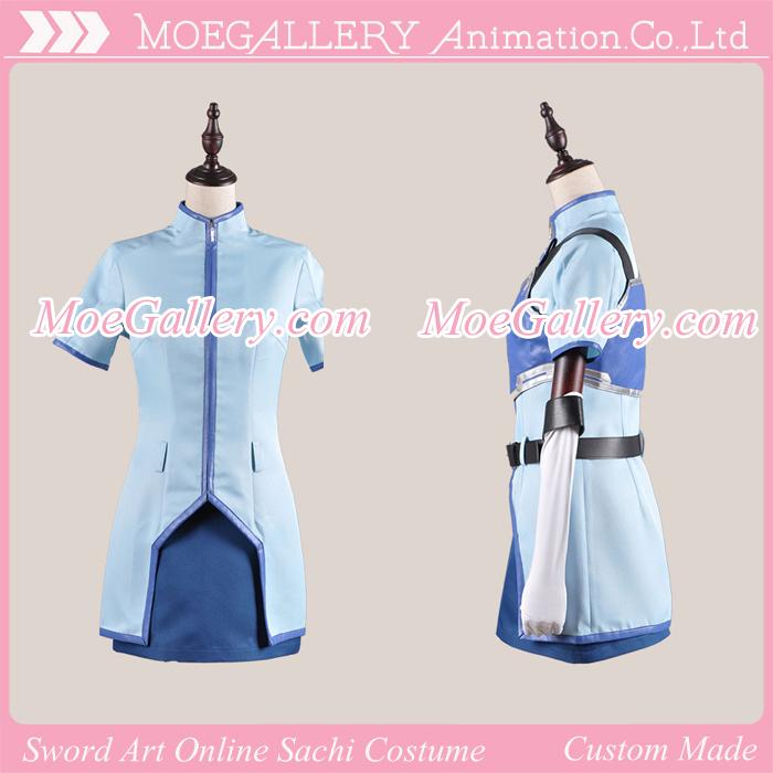 Sword Art Online Sachi Cosplay Costume