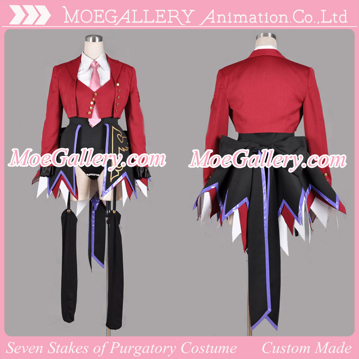 Umineko The Seven Stakes of Purgatory Cosplay Costume