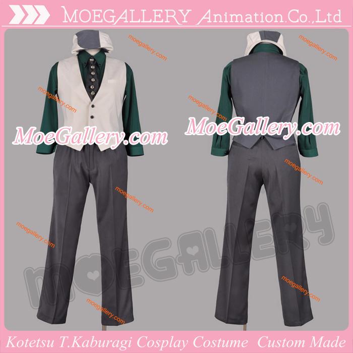 TIGER and BUNNY Kotetsu T.Kaburagi Cosplay Costume