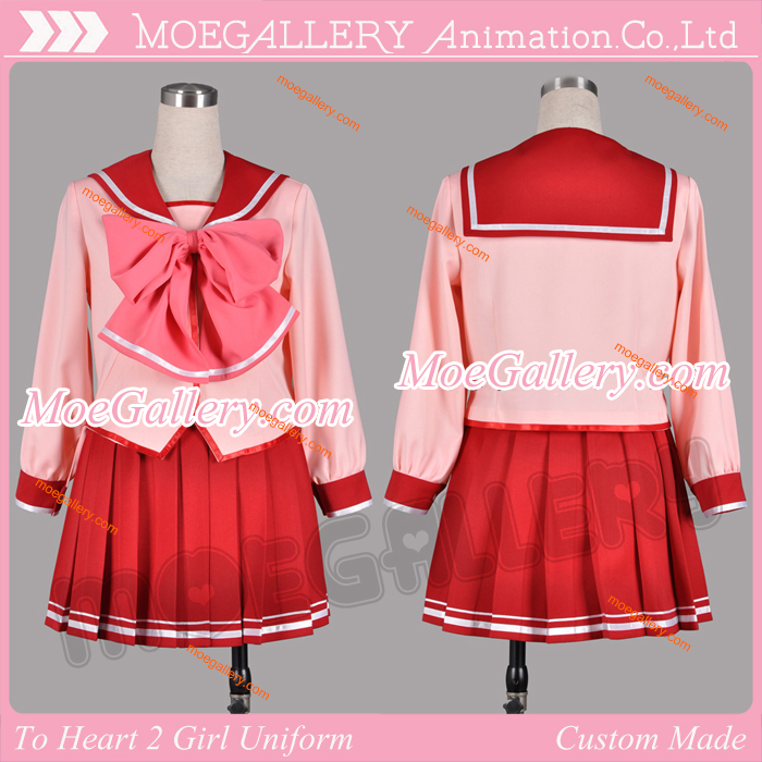 To Heart 2 Cosplay School Girl Uniform