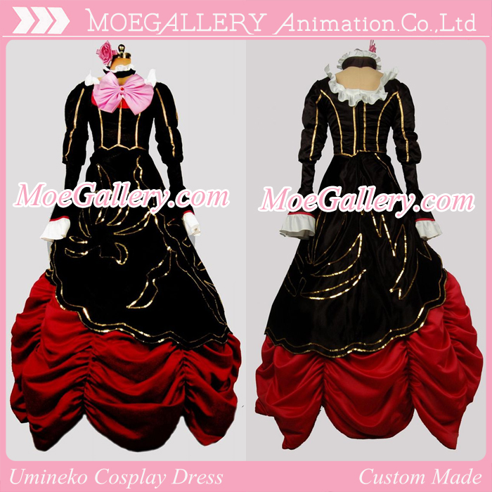 Umineko no Naku Koro ni Chiester Cosplay Dress