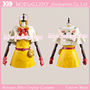 Vocaloid 2 Cat Cape Hatsune Miku Yellow Cosplay Costume