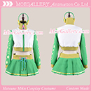 Vocaloid Project DIVA2 Hatsune Miku Green Cosplay Costume