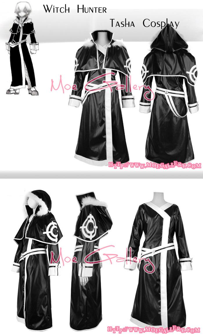 Witch Hunter Cosplay Tasha Costume