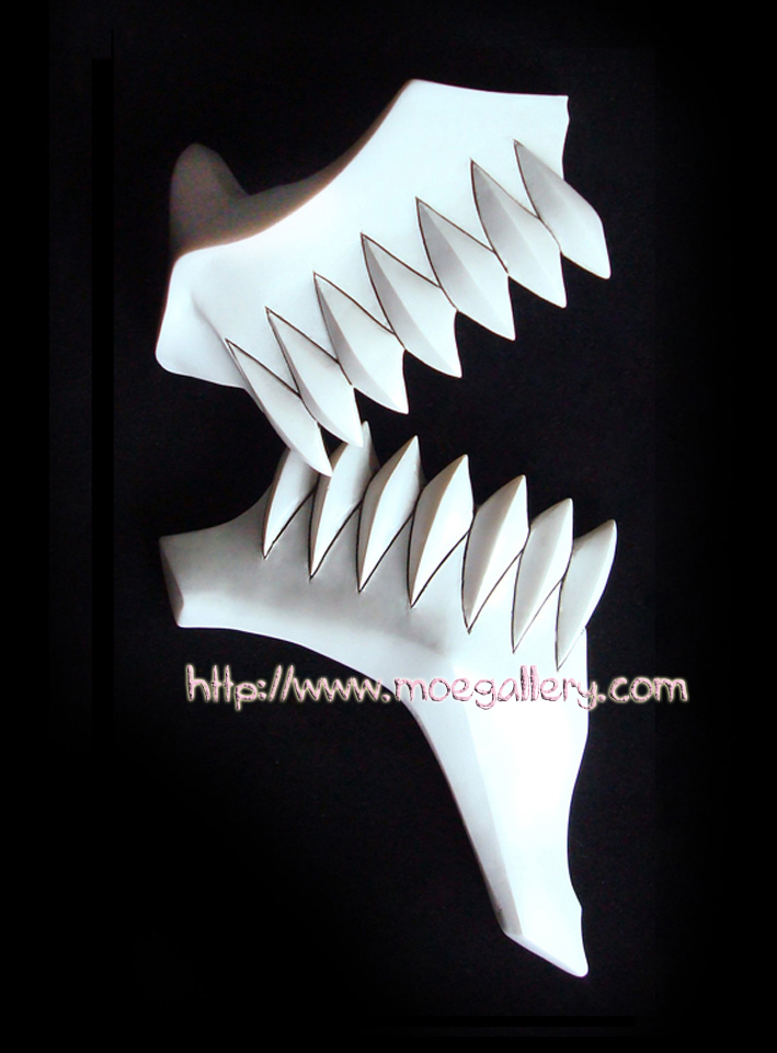 Bleach The Espada No.6 Grimmjow Jeagerjaques Hollow Cosplay Mask Props