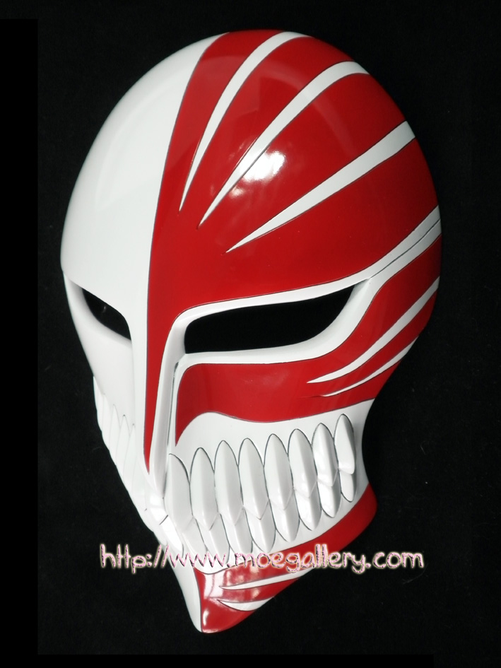 Bleach Kurosaki Ichigo Hollow Cosplay Mask Props