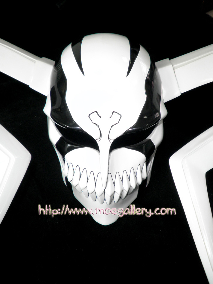 Bleach Kurosaki Ichigo Whole Hollow Cosplay Mask Props Anime Version