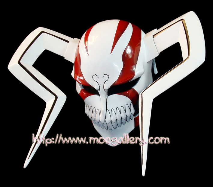 Bleach Kurosaki Ichigo Whole Hollow Cosplay Mask Props