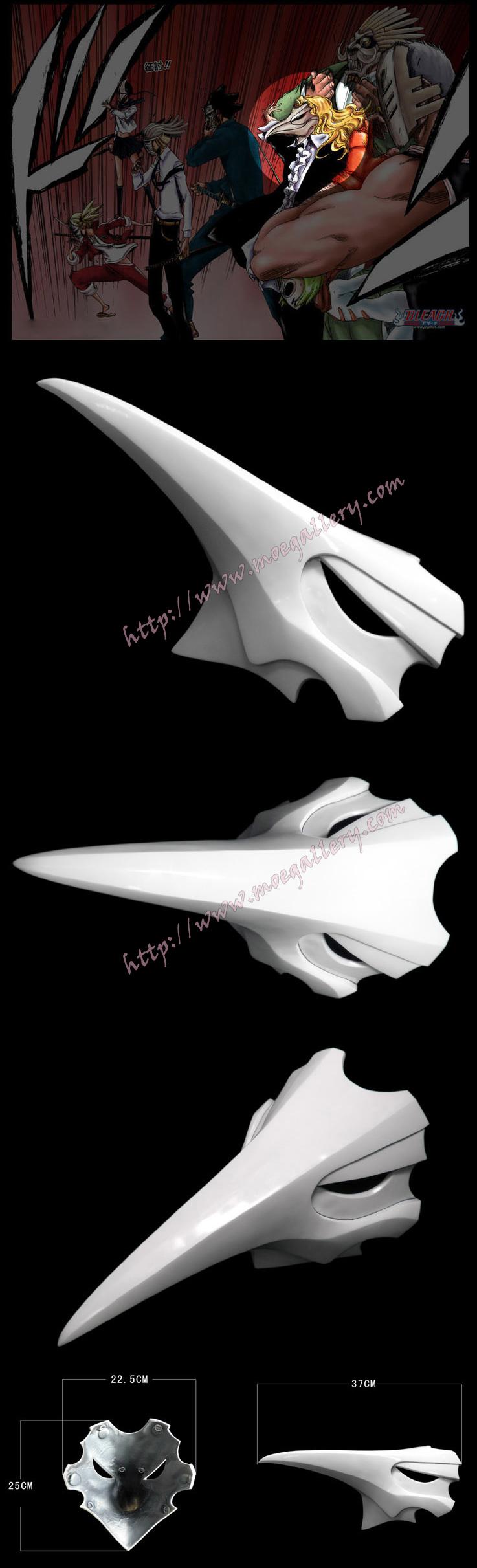 Bleach Rojuro Otoribashi Cosplay Mask Props