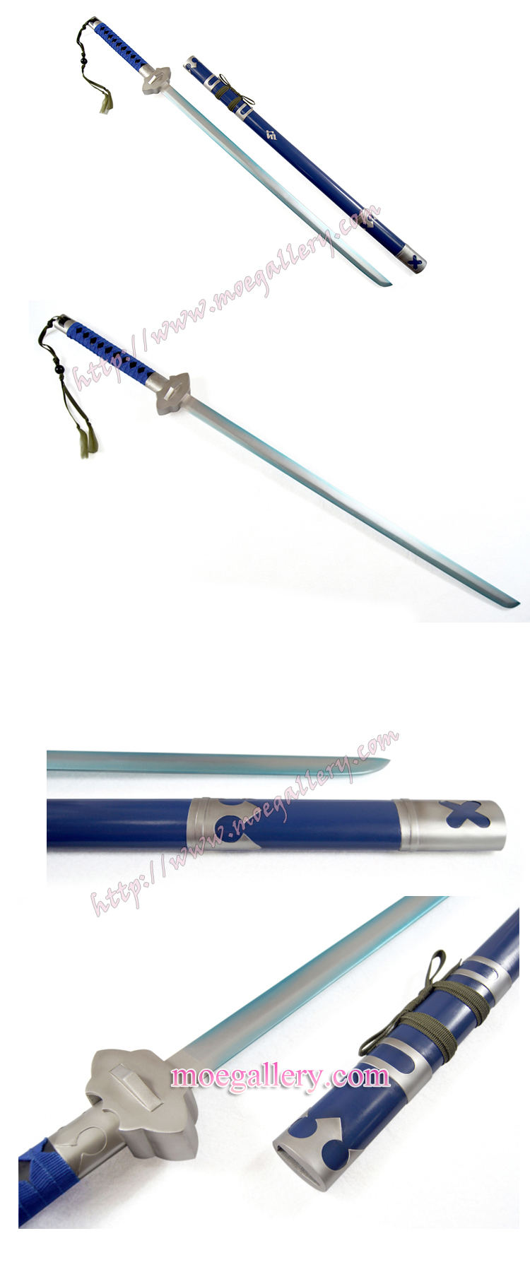 Blue Exorcist Rin Okumura Cosplay Sword Props
