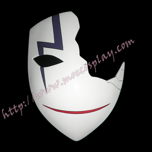 Darker Than Black Hei Lee Cosplay Broken Vizard Mask Props