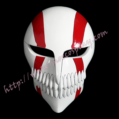 Bleach Ichigo Kurosaki Full Face Hollow Cosplay Mask Props Anime Version