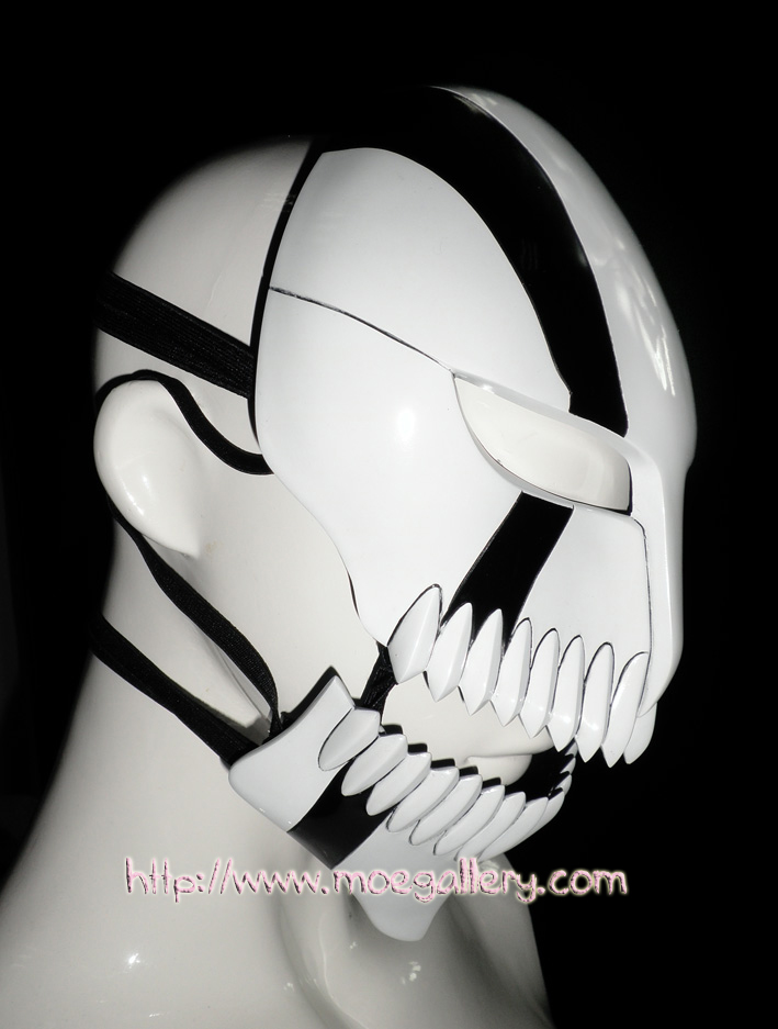 Bleach Ichigo Kurosaki Hollow Cosplay Mask Props Movable Version