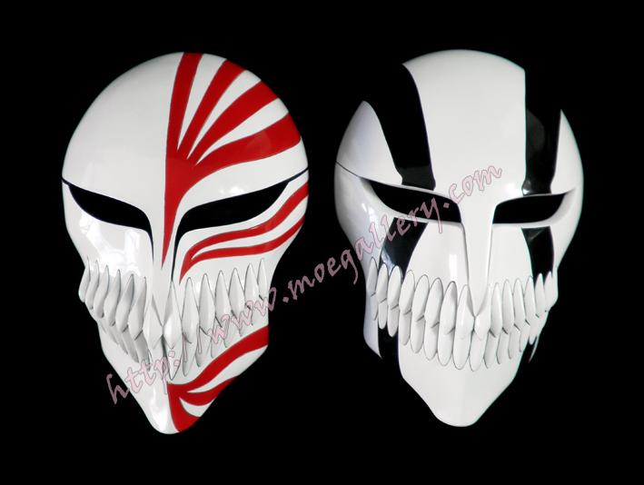Bleach Kensei Muguruma Cosplay Mask Props