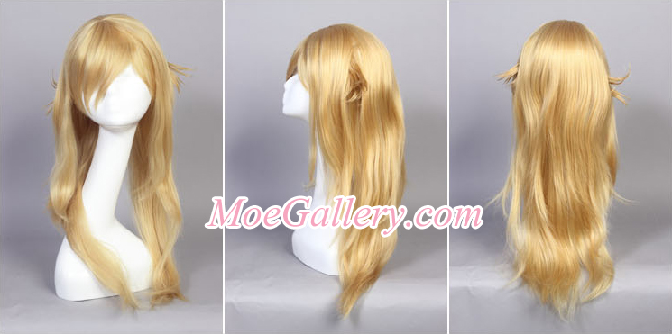 Bakemonogatari Shinobu Oshino Cosplay Wig