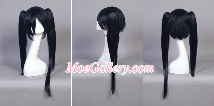 Black Rock Shooter BRS Cosplay Wig