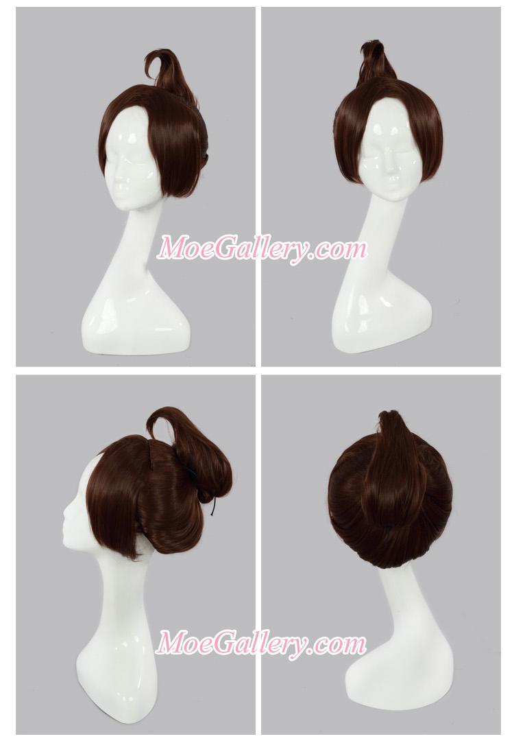 Danganronpa Aoi Asahina Cosplay Wig