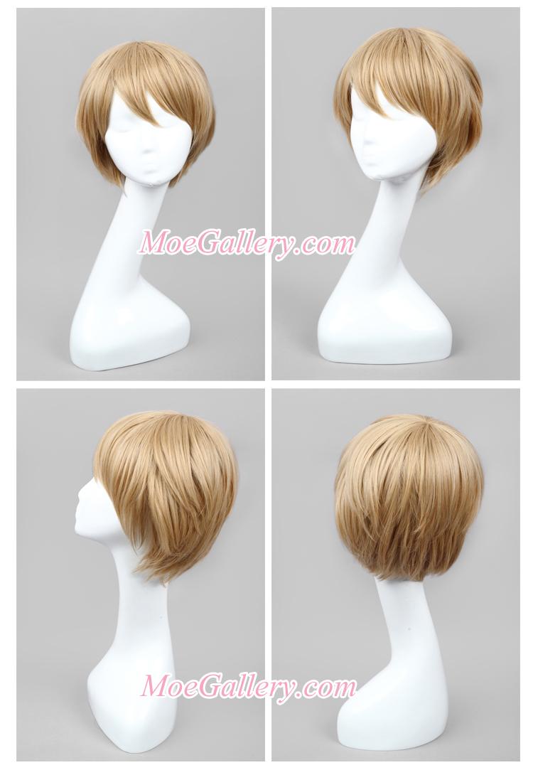 Danganronpa Byakuya Togami Cosplay Wig