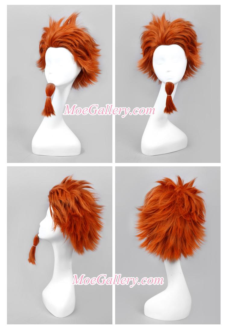Danganronpa Leon Kuwata Cosplay Wig
