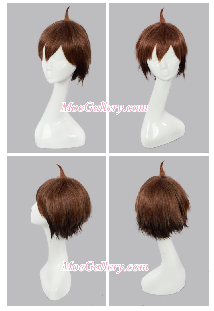 Danganronpa Makoto Naegi Cosplay Wig