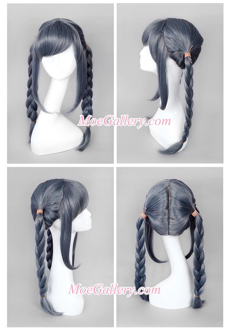Danganronpa Peko Pekoyama Cosplay Wig