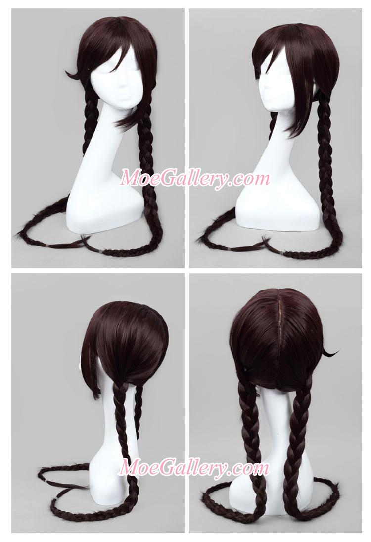Danganronpa Toko Fukawa Cosplay Wig
