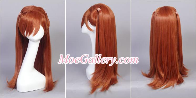 EVA Soryu Asuka Langley Cosplay Wig