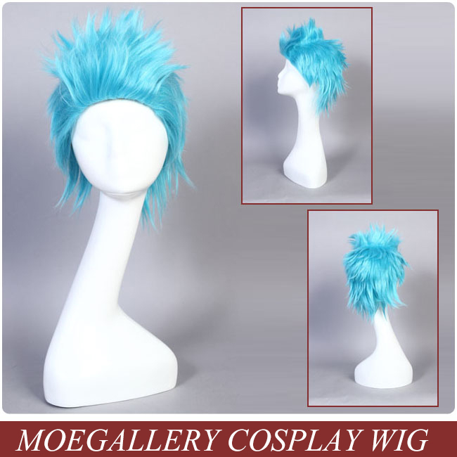 One Piece Franky Cosplay Wig